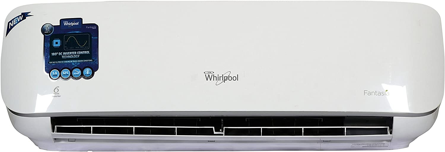 Upto 32% Off on Whirlpool ACs By Amazon | Whirlpool Fantasia Inverter AC (1.5 Ton, White, Aluminium )-With free standard installation worth upto Rs. 1500 @ Rs.37,490
