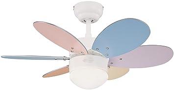 ventilatore vt-classic 130/Soffitto 5/pale C//luce FM