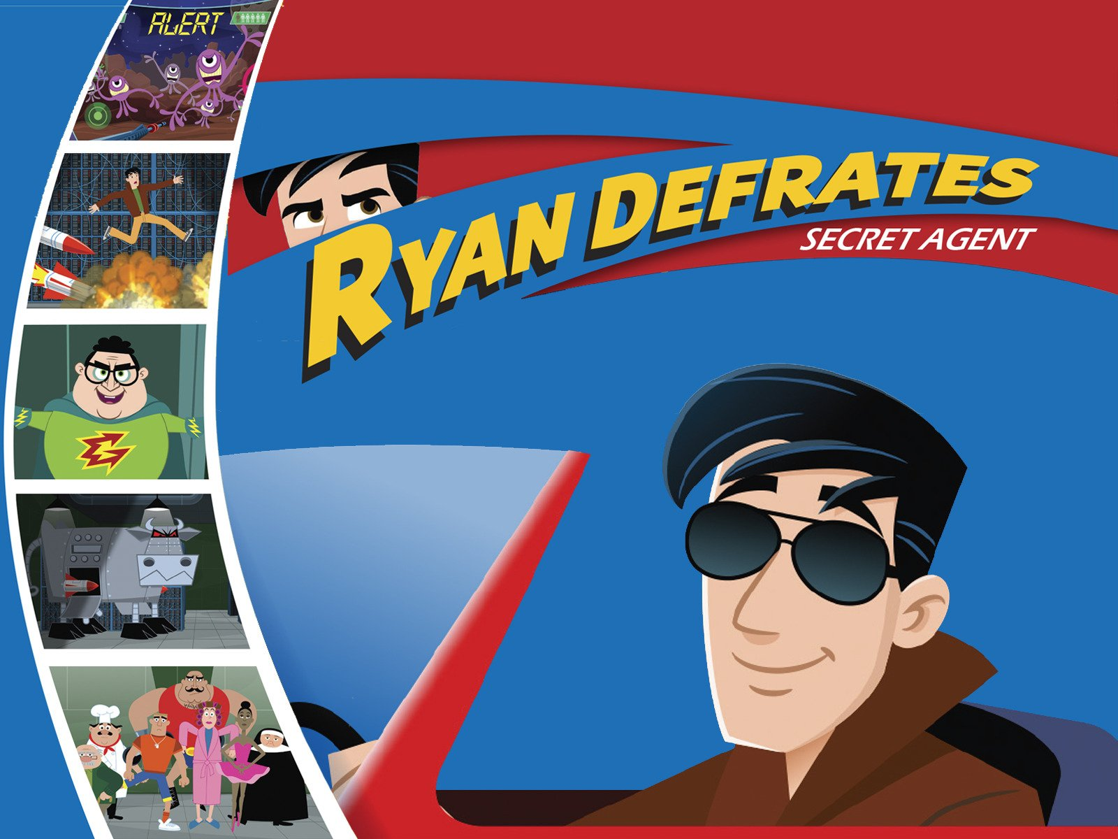 Ryan Defrates: Secret Agent on Amazon Prime Instant Video UK