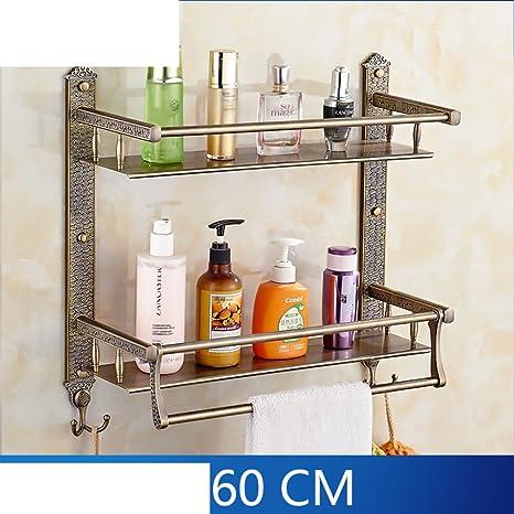 Bagno funzionale rack/Salviette/In acciaio inox prodotti cosmetici/bagno Mensole-H