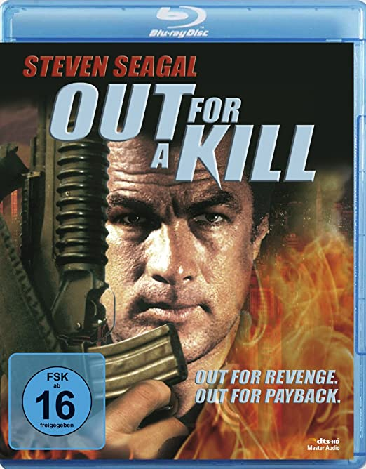 out for a kill blu ray steven seagal. Black Bedroom Furniture Sets. Home Design Ideas
