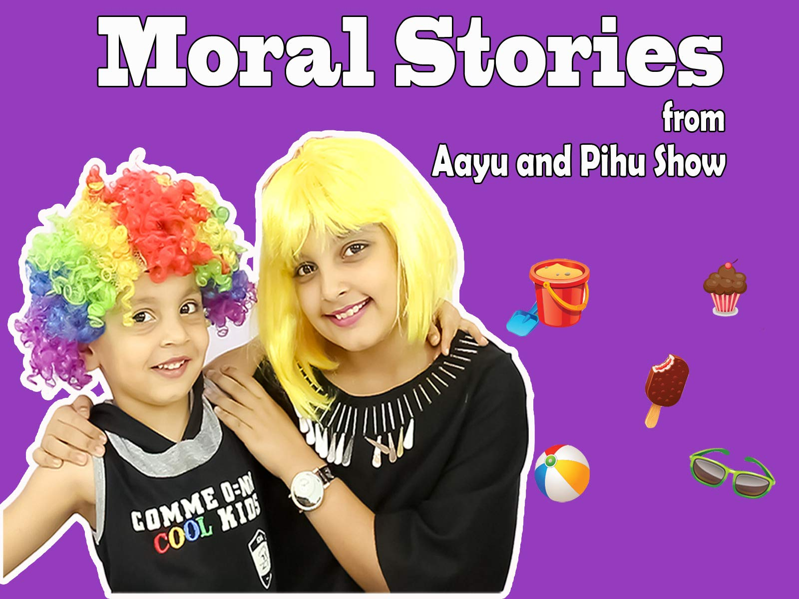 Moral Stories from Aayu and Pihu Show on Amazon Prime Video UK