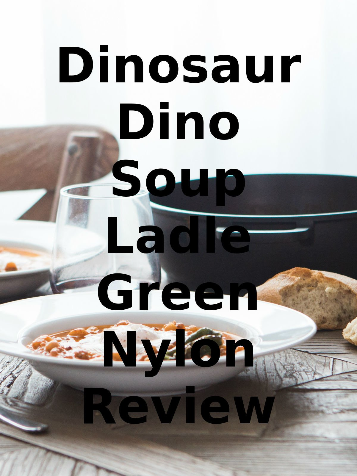 Review: Dinosaur Dino Soup Ladle Green Nylon Review on Amazon Prime Video UK