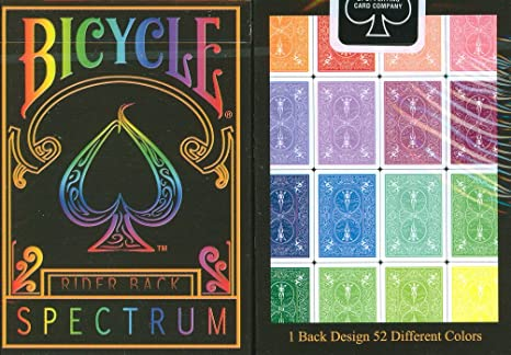 Top Deck Cards:  Bicycle Spectrum Playing Cards price and features