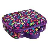 ZIPIT Colorz Lunch Box, Purple (Color: Purple)