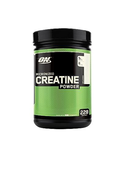 Optimum Nutrition Creatine Kreatin Geschmacksneutrales Pulver - 1200 g
