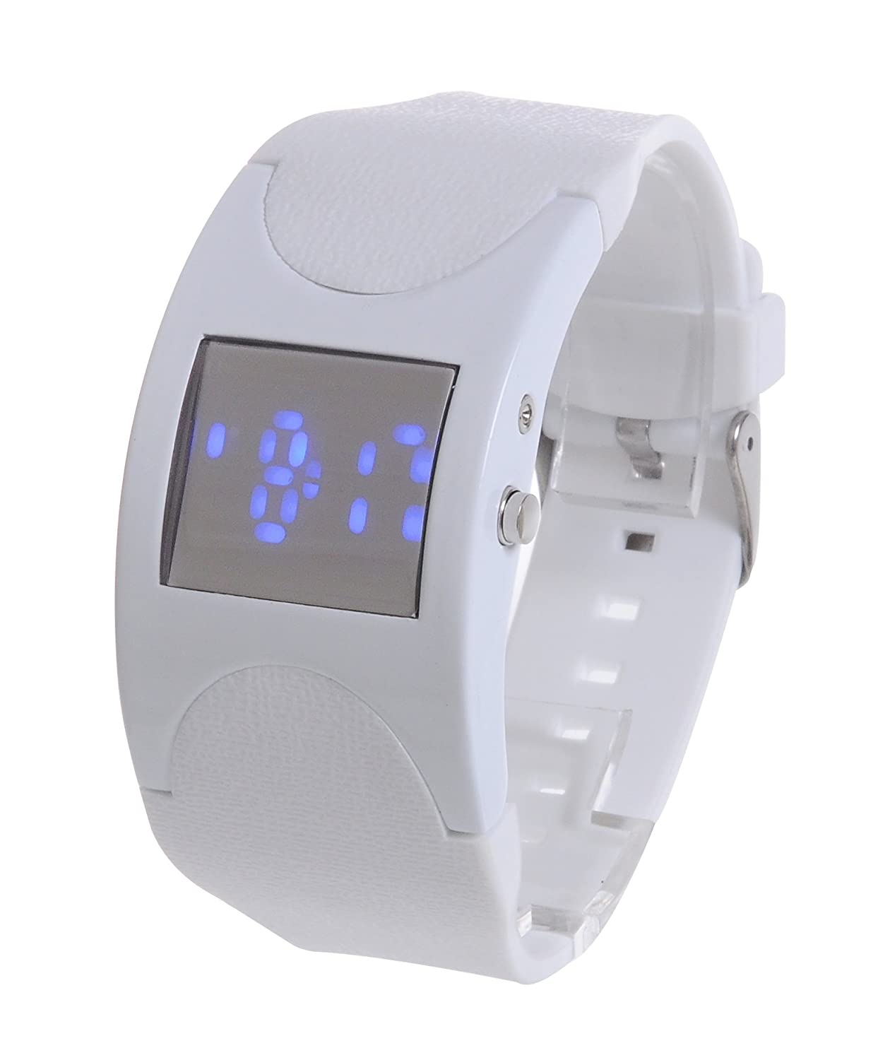 Часы Good&god White Silicone Band White Case Fashion Led Watch