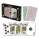 Copag Poker Size Regular Index 1546 Playing Cards (Green Burgundy Setup) (Tamaño: One Size)