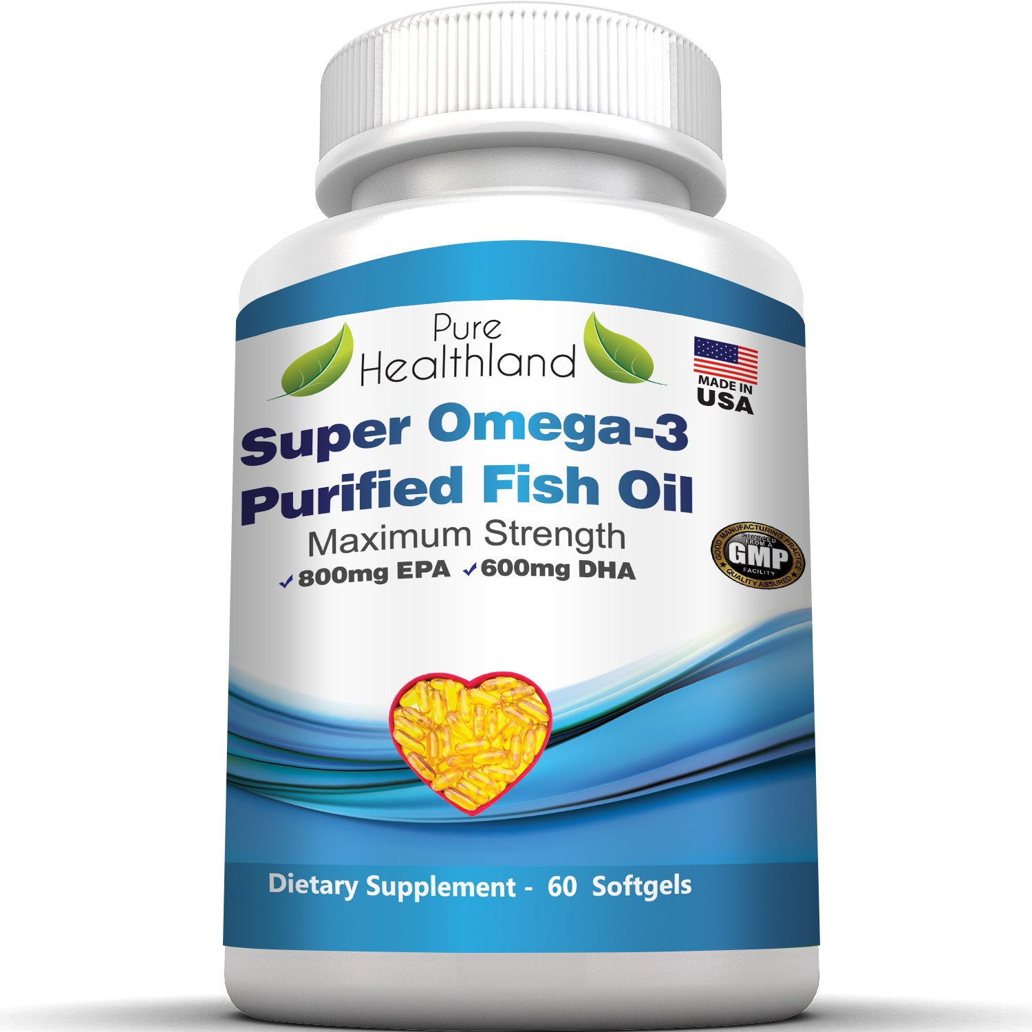 Omega 3 fish oil softges triple strength epa dha essential for Fish oil pills