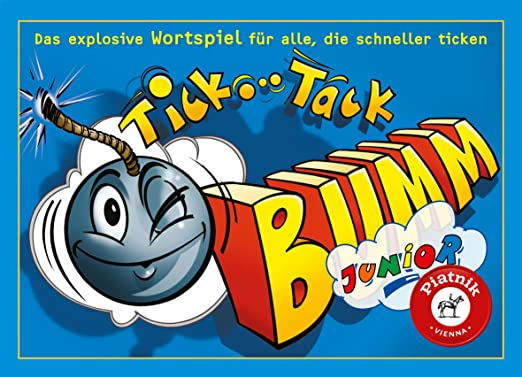 Tic Tac Boum Junior - Langue : allemand