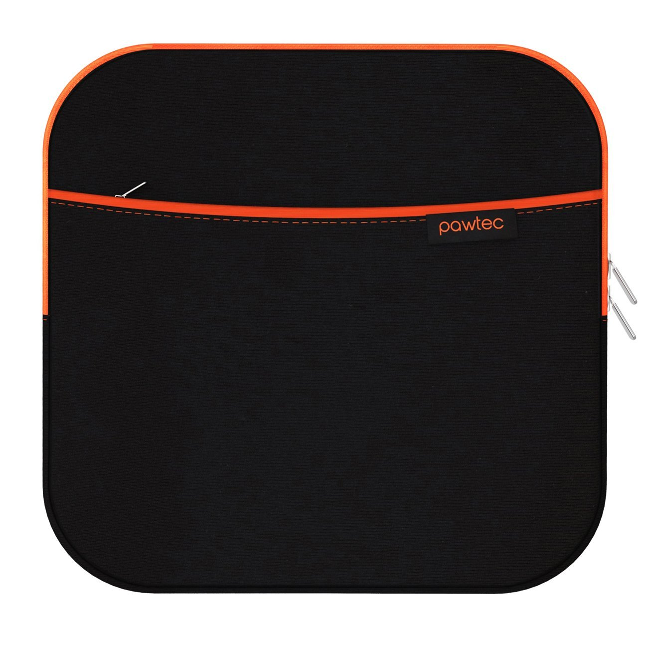 Pawtec External USB CD DVD Blu-Ray & Hard Drive Neoprene Protective Storage Carrying Sleeve Case With Extra Storage Pocket