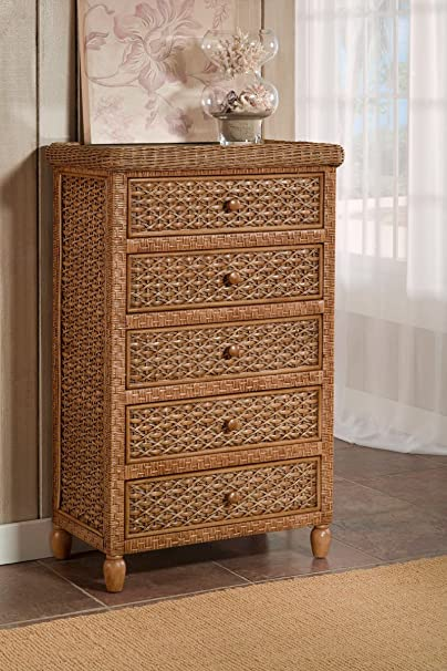 West Indies 5 Drawer Chest