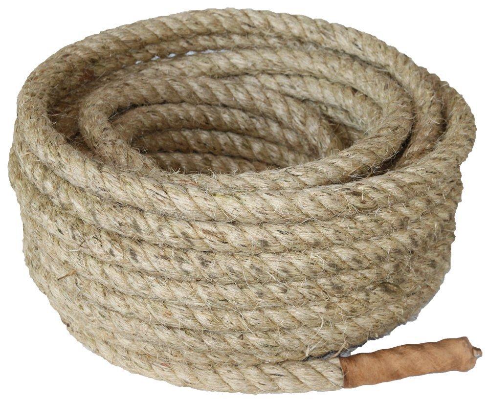 Sisal-Seil für Tauziehen – 30 Meter x 32 mm online bestellen