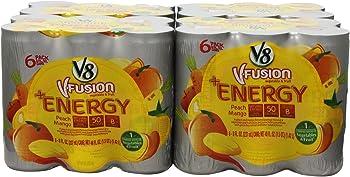 V8 Energy 8-oz. Can 24-Pack in Peach Mango