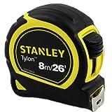 Stanley Tylon 8m/26' Measuring Tape (Color: Black)