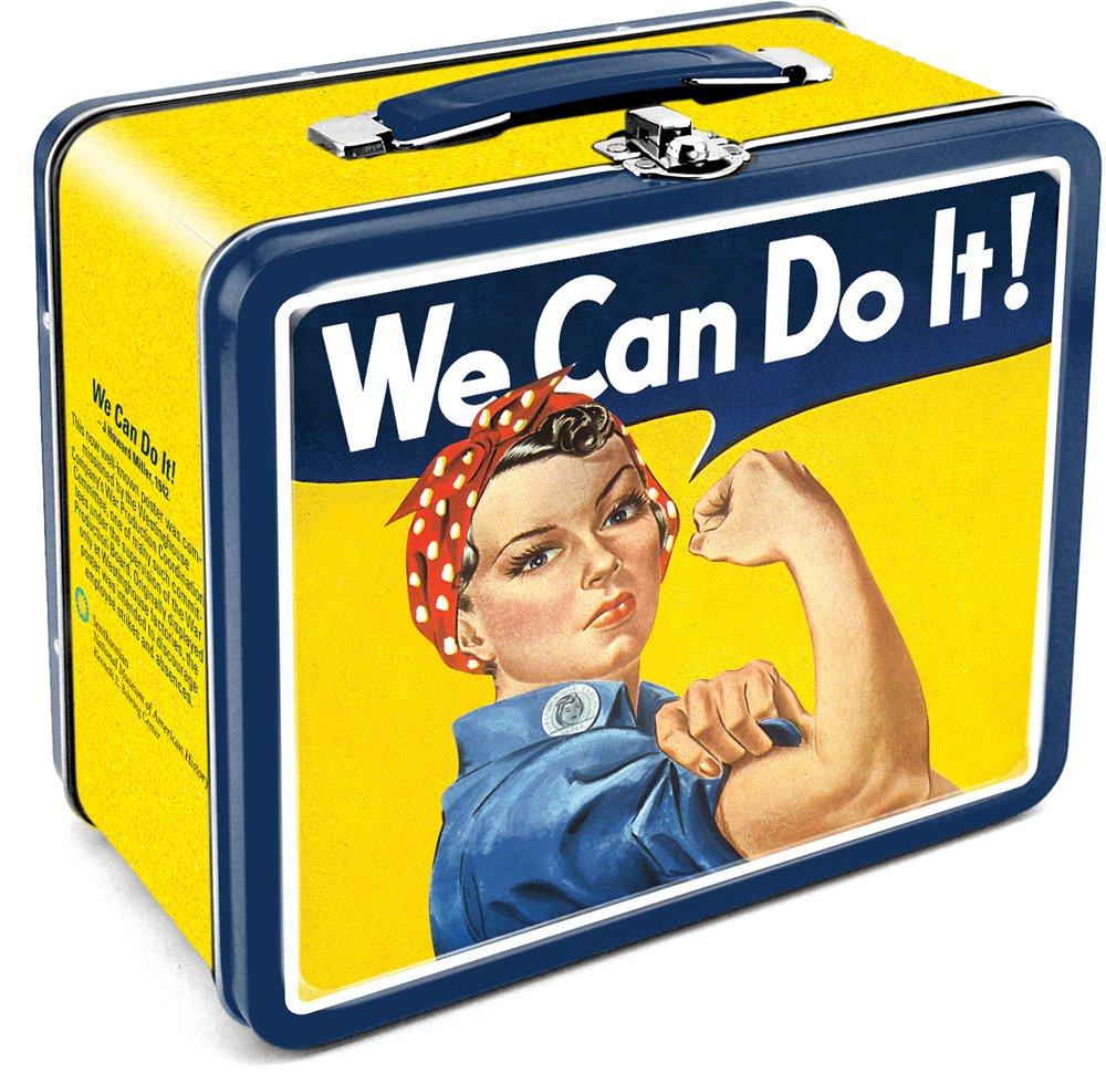 Aquarius Smithsonian Rosie We Can Do It Tin Large Tin Fun Box 0