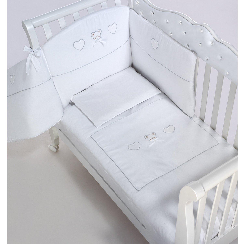 azzurra design baby bettw sche gemini garnitur set ebay. Black Bedroom Furniture Sets. Home Design Ideas