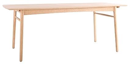 Asta Skagen Table à Manger 8 Personnes en Chêne 190 x 95 x 74 cm