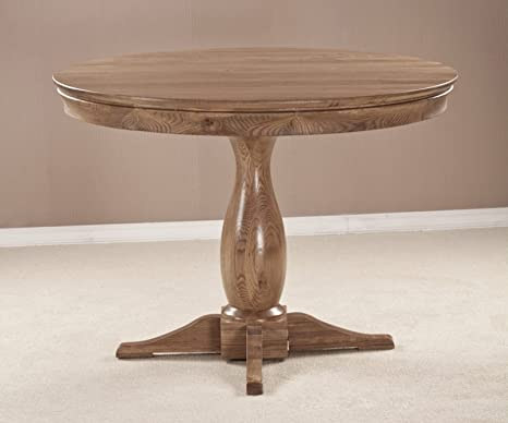 French Solid Oak Furniture Round Dining Table