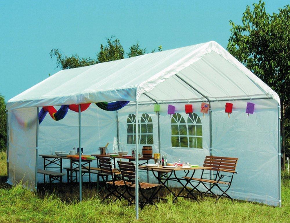 Siena Garden 556369 Partyzelt, inklusive  Dach, 38 mm Rohre, inklusive  Giebeln und Seitenteilen L 600 x B 300 cm günstig online kaufen