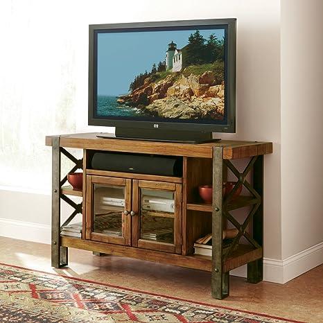 TV Cabinet in Landmark Worn Oak Finish