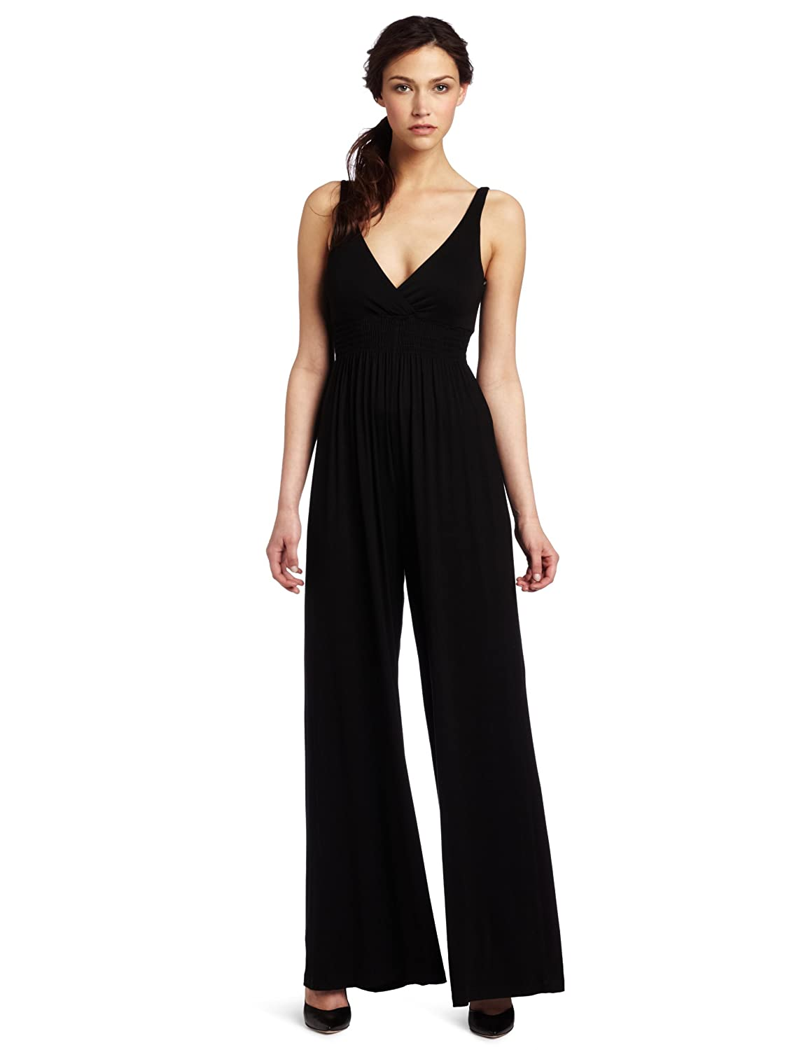 Unique Three Dots Strapless Jersey Jumpsuit For Women  Bagep