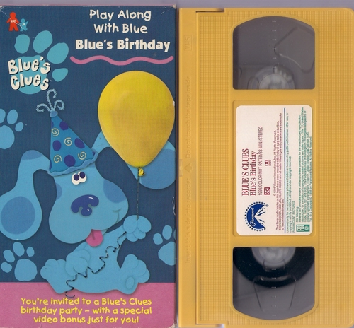 Blues Clues Birthday Vhs Related Keywords Suggestions Blues