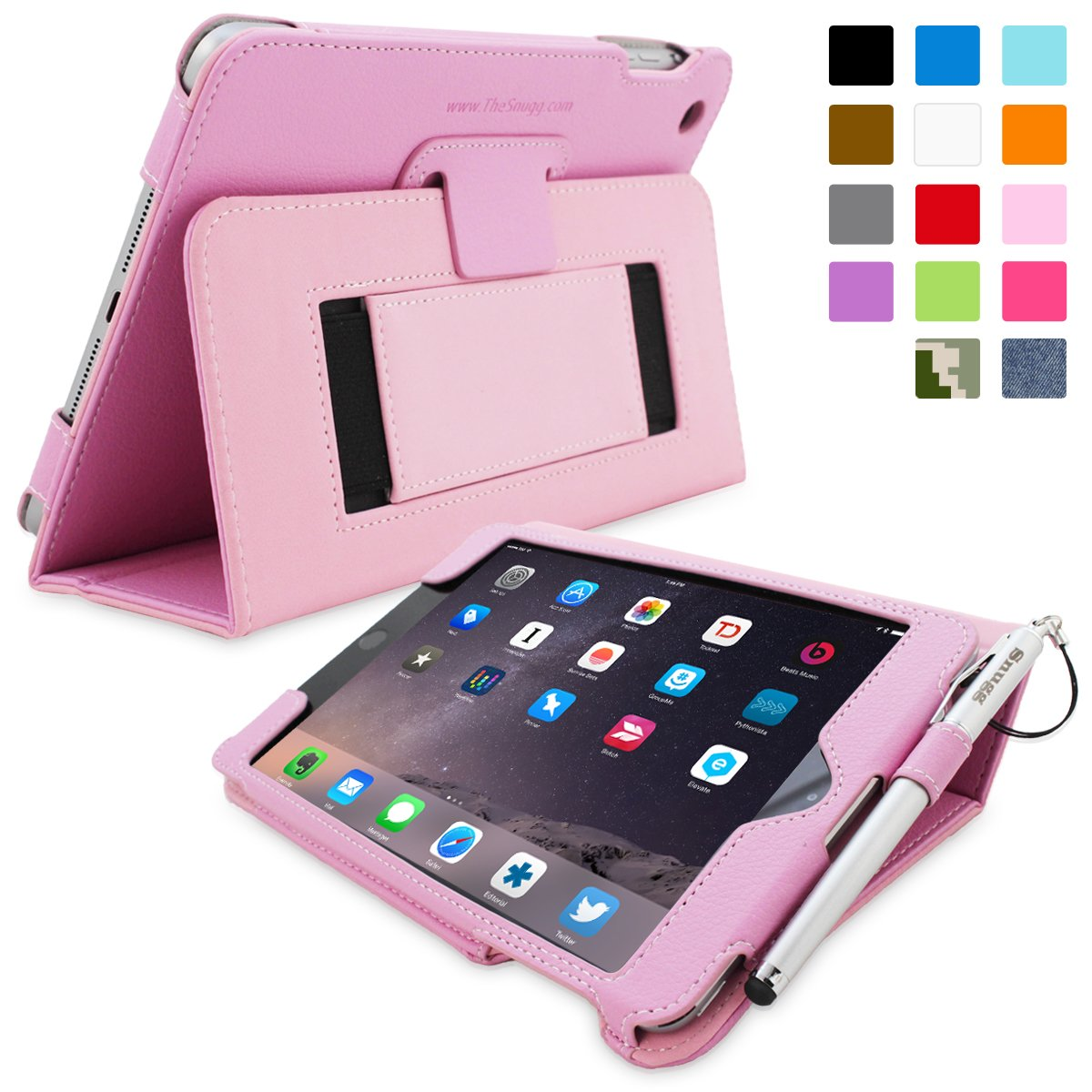 Snugg™ iPad Mini 3 Case   Smart Cover with Flipreviews and more information