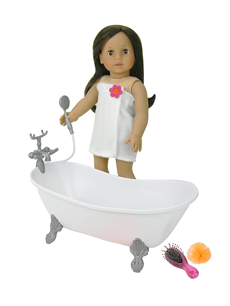 18 Inch Doll Bathtub with Shower Fits American Girl Doll ...