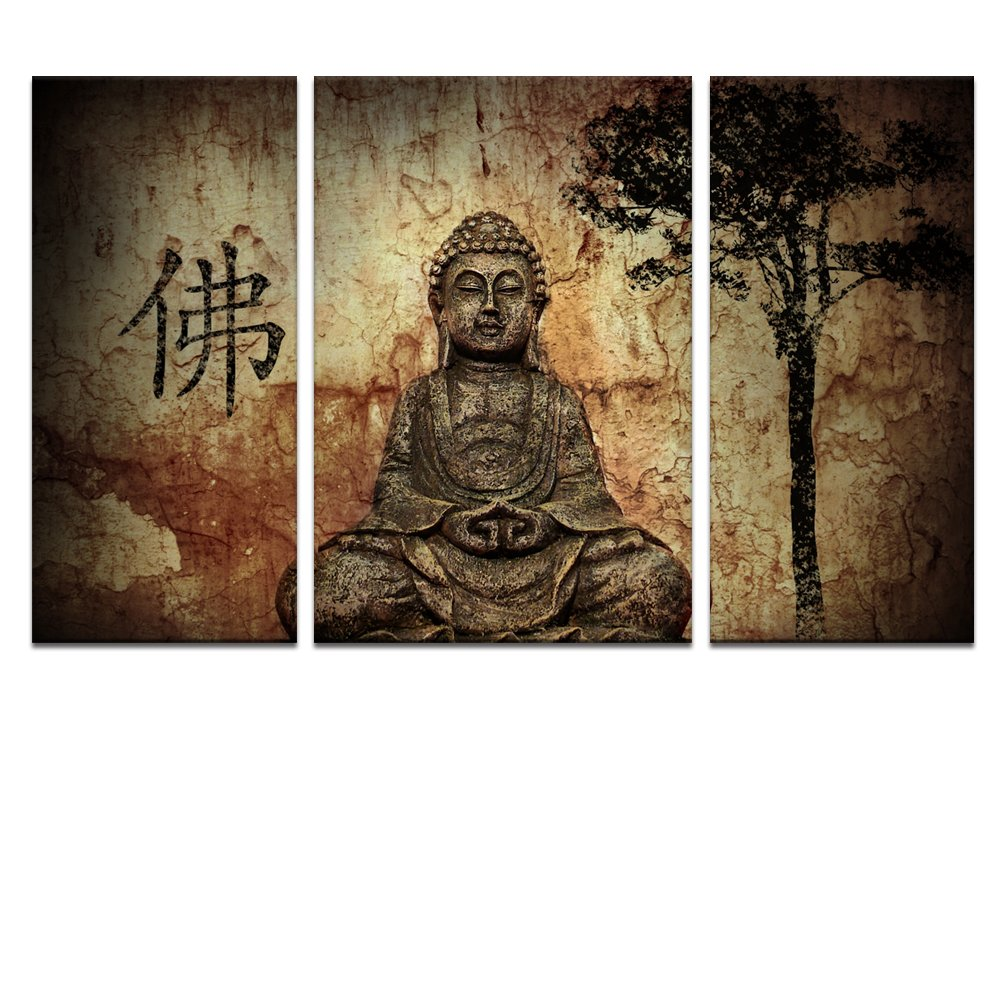Buddha wall decor ideas traditional and peaceful for Buddha wall art