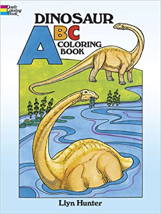 Dinosaur ABC Coloring Book (Dover Coloring Books)