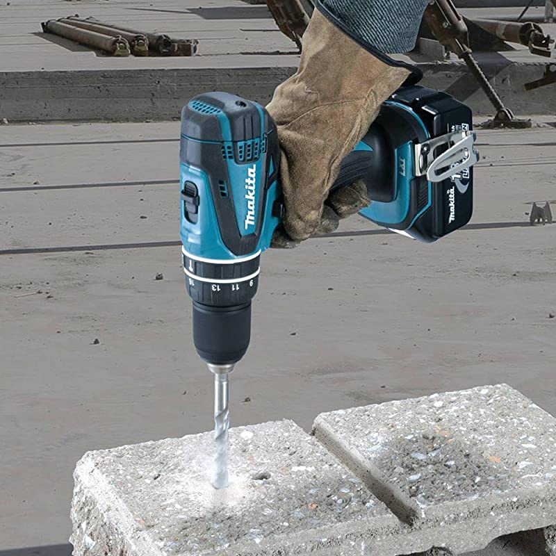 Makita XPH012 18V LXT Lithium-Ion Cordless 1/2-Inch Hammer Driver-Drill Kit with One Battery- DIscontinued by Manufacturer via Amazon