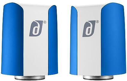 Jet Bluetooth Stereo Speakers Bleu