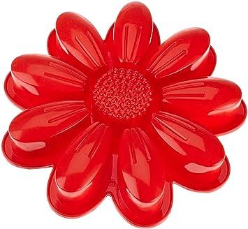 "Silicone Dr Oetker /""flexxibel Tarte Moule 26 cm ronde en forme de Rouge"