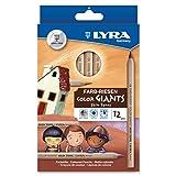 Dixon Ticonderoga Company Lyra Color Giants Skin Tone Colored Pencils (DIX3931124) (Color: ASSORTED)