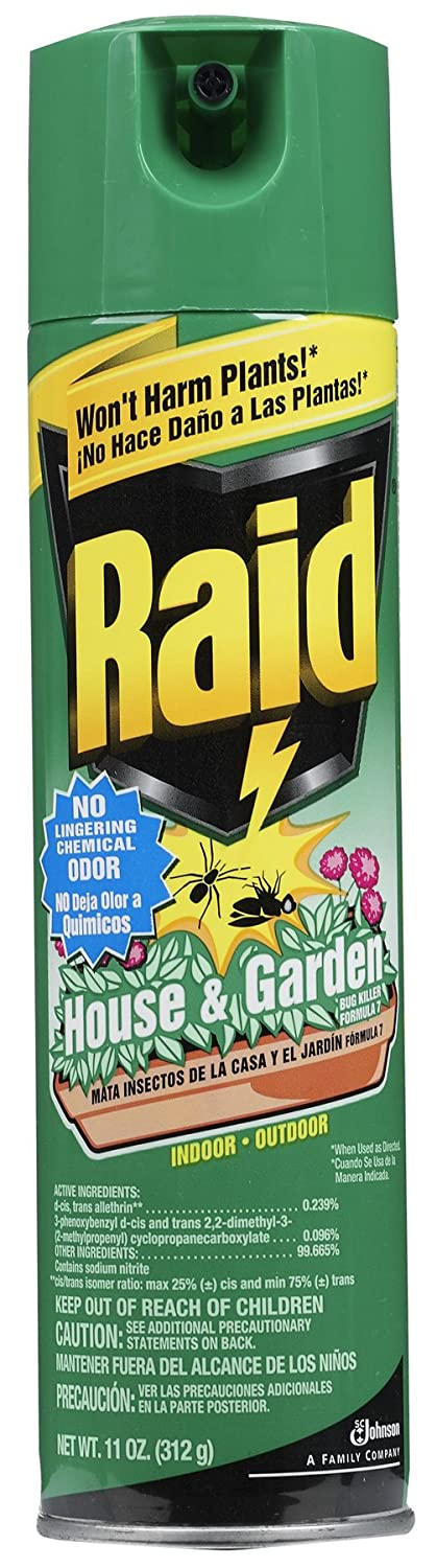 Amazon.com : Raid 01672 House & Garden Bug Killer : Home Pest ...