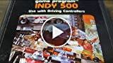 Classic Game Room - INDY 500 For Atari 2600 Review