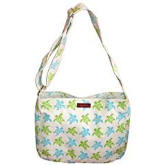 Bungalow360 Lucille Sea Turtle Vegan Messenger Bag