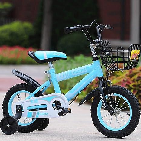 Enfants Vélo Garçons Filles Chariots à bébé Enfants VTT ( Couleur : #4 , taille : 14 inch )