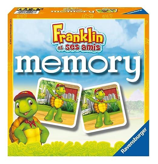Ravensburger - 21007 - Jeu de Société - Grand Memory Franklin