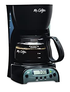 Mr. Coffee 4-Cup Programmable Coffeemaker, DRX5 Via Amazon