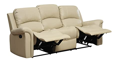 Glory Furniture G795-RS Reclining Sofa, Beige