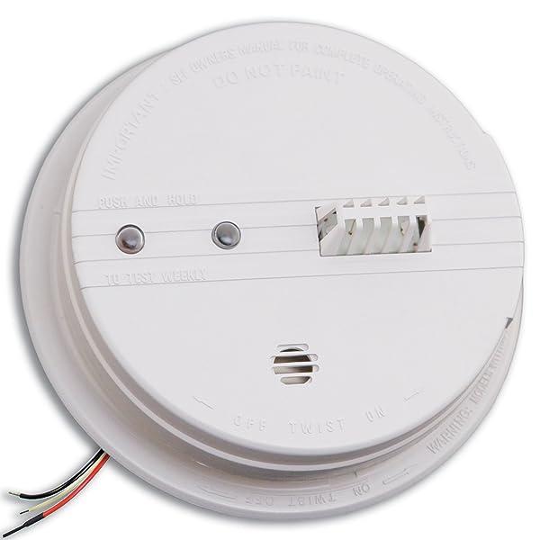 Kidde HD135F Fyrnetics Hardwire Heat Detector with Battery Backup (Color: standart)