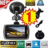 Vehicle Camera DVR, Ikevan 1x Car 1080P 2.2