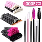 BTArtbox Disposable Makeup Applicator False Eyelashes (A-300Pcs Disposabel Makeup Applicators) (Color: A-300Pcs Brush Set)