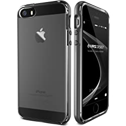 VRS Design iPhone SE Case - Steel Silver