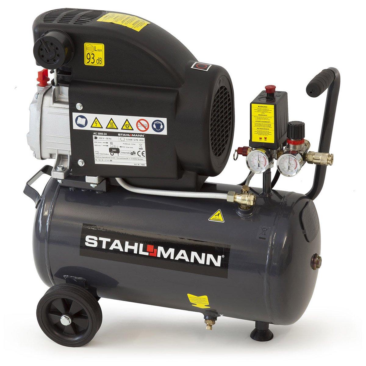 STAHLMANN Kompressor 24L AC300024  BaumarktKundenbewertung und Beschreibung