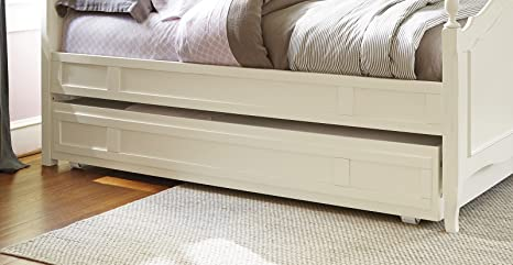 Smartstuff Genevieve Trundle in French White