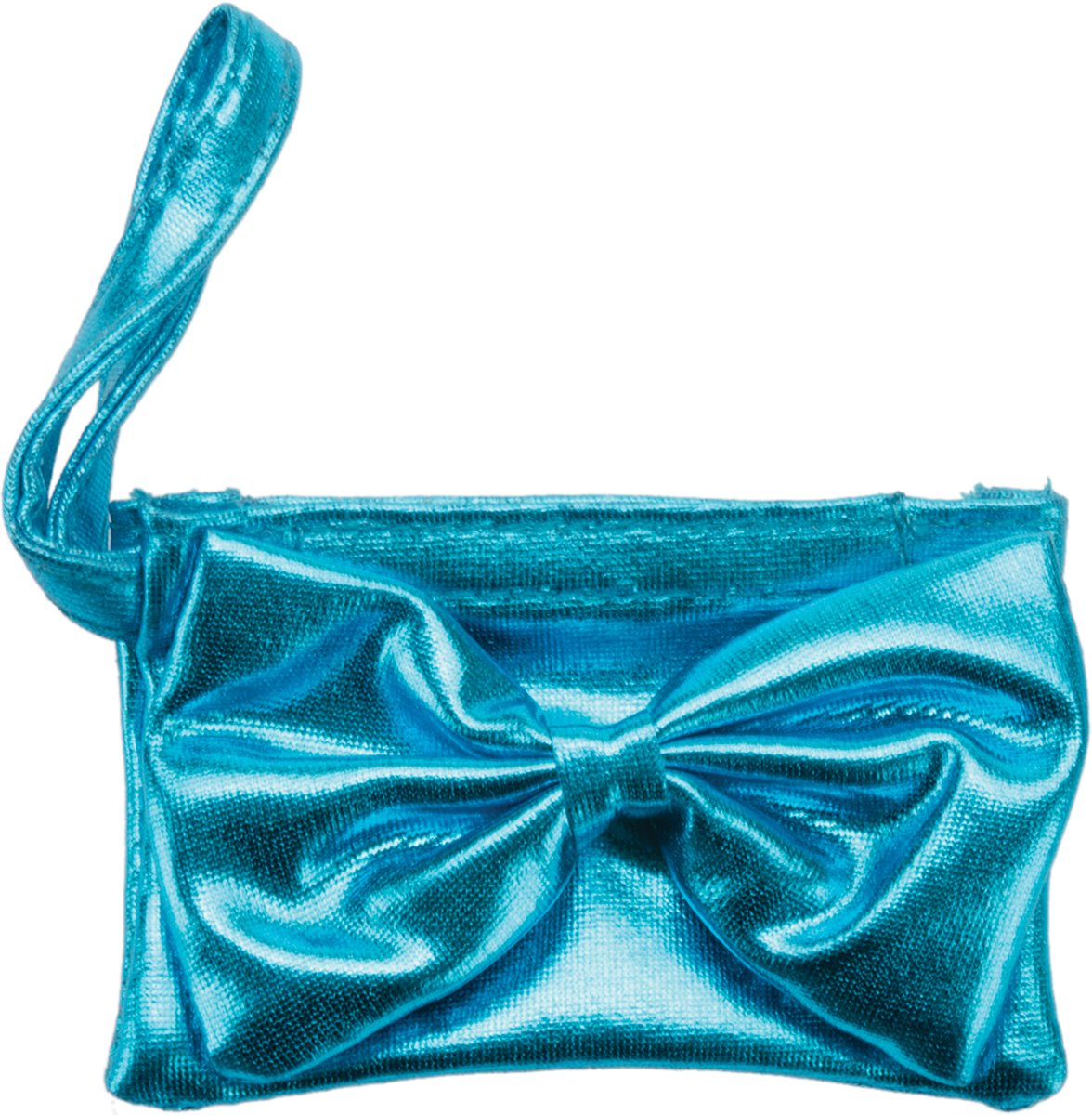 Fiber Craft Springfield Collection Wristlet for Doll, Turquoise