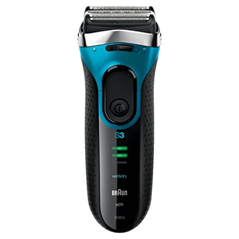 Braun Series 3 3080 Rechargeable Wet and Dry& Electric Foil shaver for Men